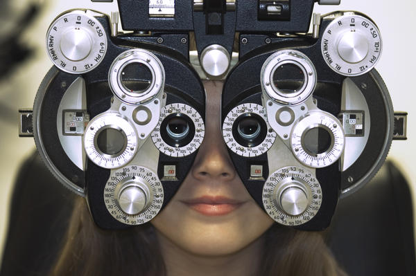 The optometrist said my eyesight is -5. What exactly does that mean?