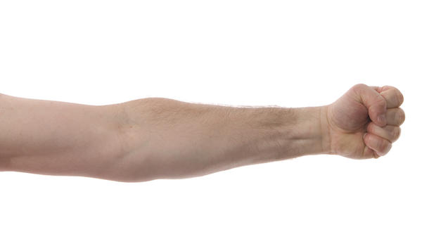 Is it harder to get muscle on long arms?