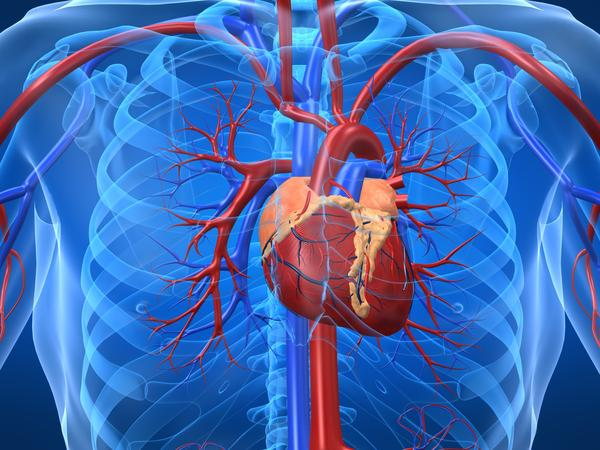 Is it unusual to develop heart problems after lung surgery?