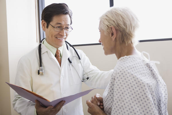 How should I consult a doctor if a loved one has bowel incontinence?