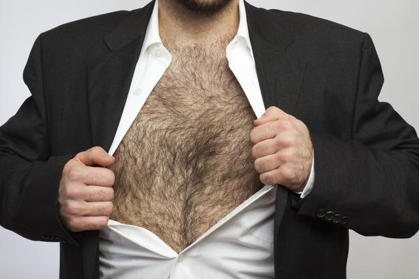 What ethnic groups have a lot of body hair?