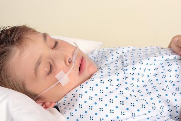 Does bronchiolitis cause low oxygen saturation?