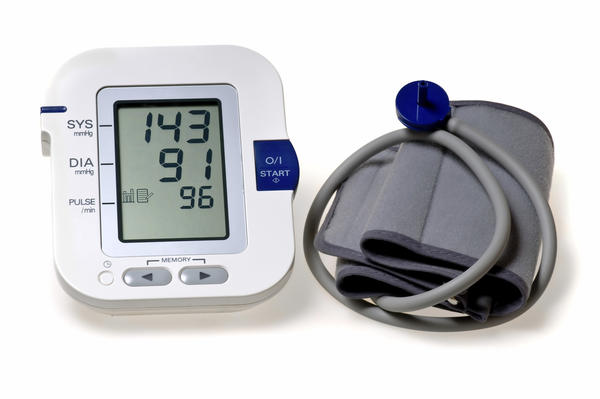 What does a lower diastolic pressure means?
