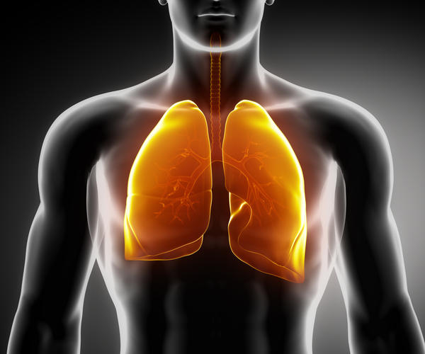 Is COPD severe when it shows hyperinflated lungs and flattened diaphragm on chest X-ray?