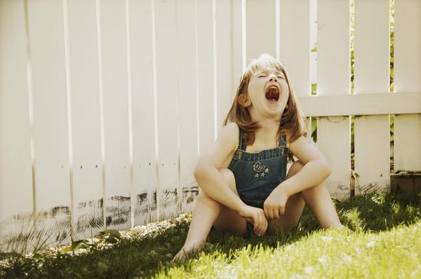 What causes temper tantrums?