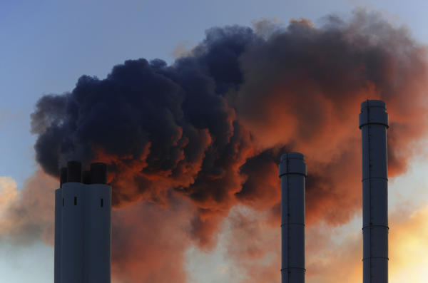 How does industrial pollution affect human health?