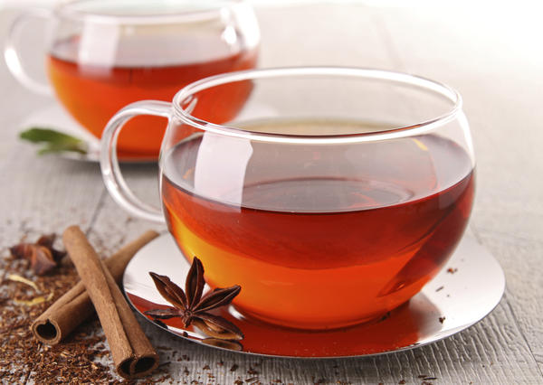 Can you tell me if rooibos tea contains l-theanine?