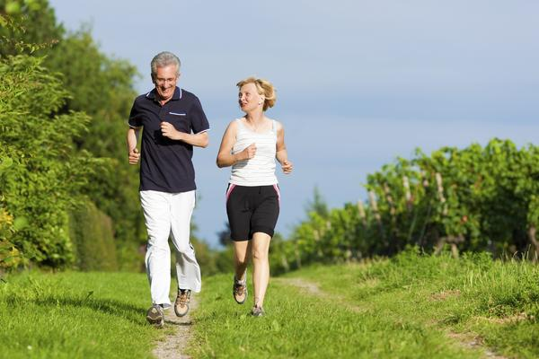 68 yr old runs 2 miles a day. Is it normal to have a pulse of 45 after waking in the AM?