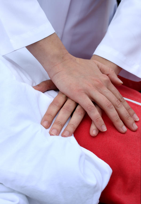 What happens if cpr is performed on a healthy person?