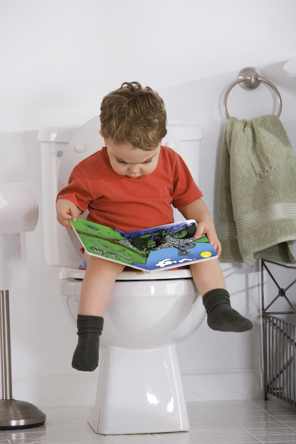 How do I toilet train children with dyspraxia?