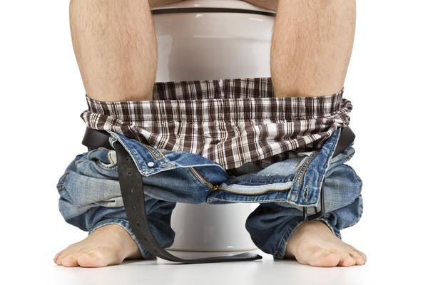 How long does it take for bicarbonate (sodium bicarbonate) of soda to relieve constipation?