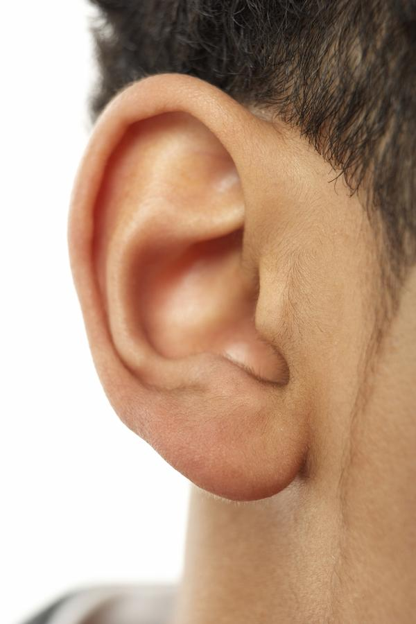 Why is my left ear suddenly red, hot, and burning? redness is mostly on scalpa, helix, and anthelix. not so much on lobe