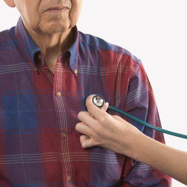 I have an enlarged heart caused by copd, what to do?