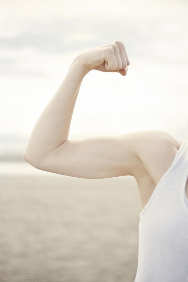 What exercise help make your forearm extensor muscle stronger?