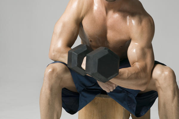 What causes rapid loss of muscle mass?