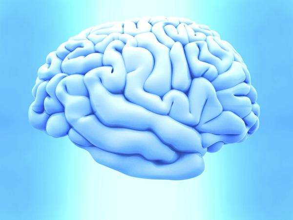 Can a white blood cell count tell if a person has brain swelling or neurological symptoms?