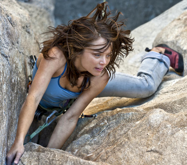 How does rock climbing help improve your emotional health?