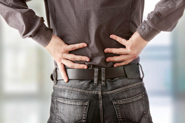 What are some easy ways to alleviate back pain?