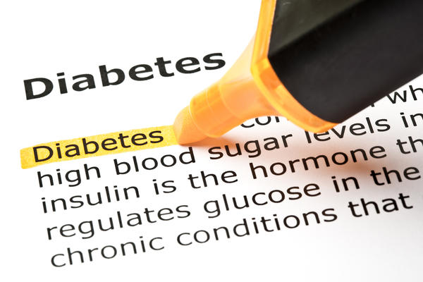 What are symptoms of diabetes and low blood sugar?