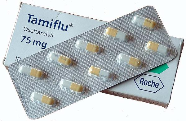 Side effects of tamiflu used for prevention after exposure to flu virus? Immunized son has flu, given script for 3y/o brother with asthma.  Safe?