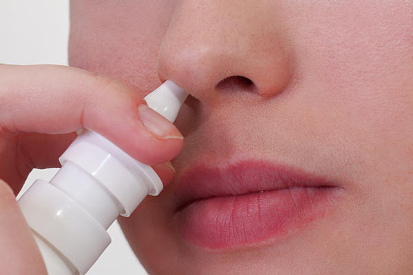 What would be the best way to get off nasal spray?