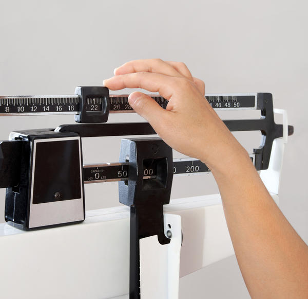 How does leptin affect weight gain?