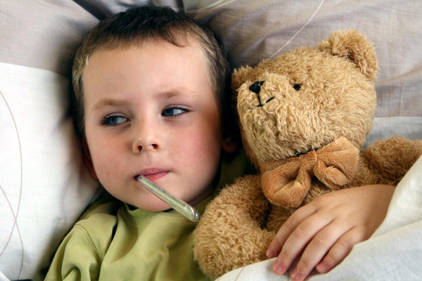 What is considered to be too high of a fever in a 5 year old child?
