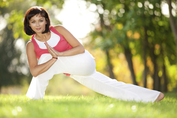 I want to find some yoga exercises that will stretch or exercise my stomach muscles. Any great ideas?