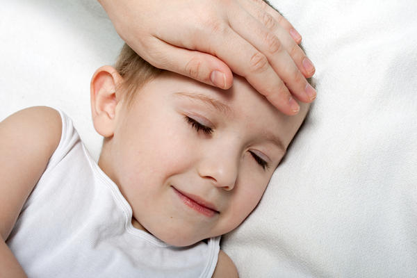 Can a child have fever with a sinusitis infection?