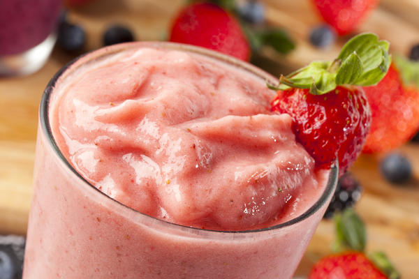 Can a diet high in soy protein smoothies help one lose weight?
