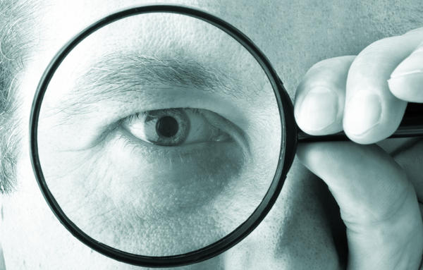 Does the diabetic eye disease cause vision loss?