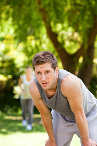 What could cause shortness of breath while exercising?
