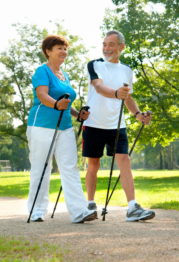 What is the best place for elderly to practice walking? Sidewalk, grocery store, mall?