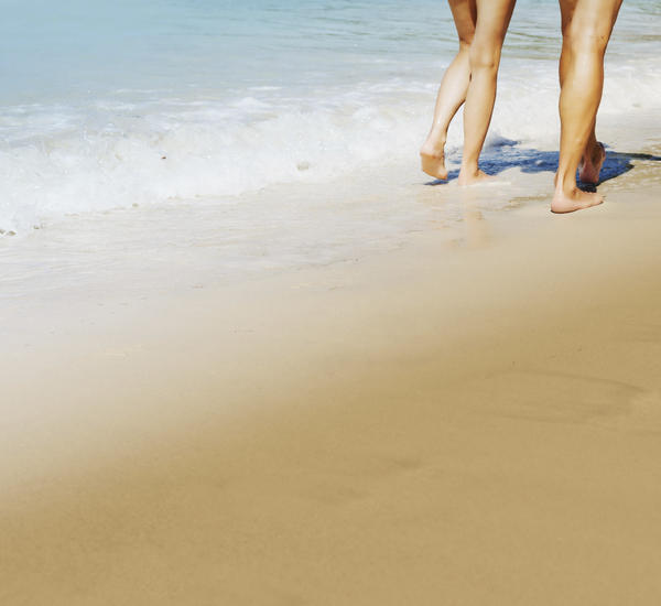 Is it dangerous to walk barefoot outside?