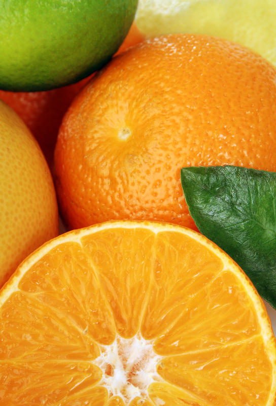 Does the fiber or anything else from orange juice affect how medications are absorbed in general?