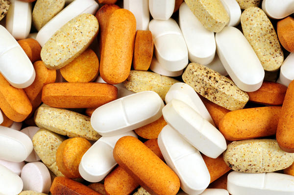 What vitamins and minerals can contribute to constipation?