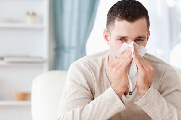 What does it mean when you have a cold and cough up phelm with blood in it?