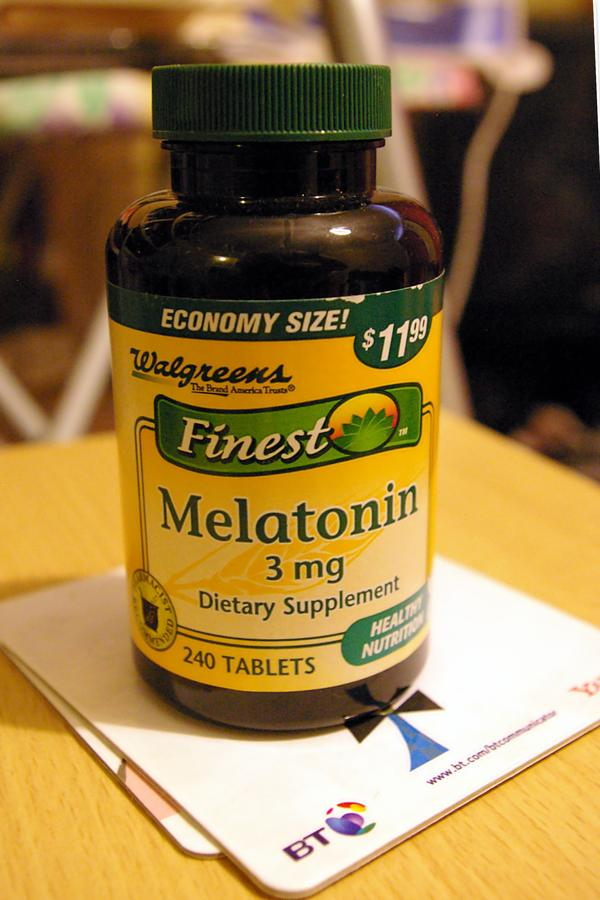 I take 1 tablet of .05 klonopin and 20mg flexeril at night, but I still can't fall a sleep, can I add 1mg of melatonin ?