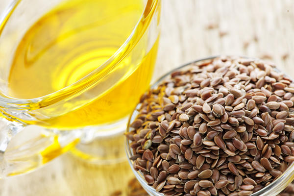 For a vegetarian, how much more flaxseed must be taken to get the same effect as fish oil?