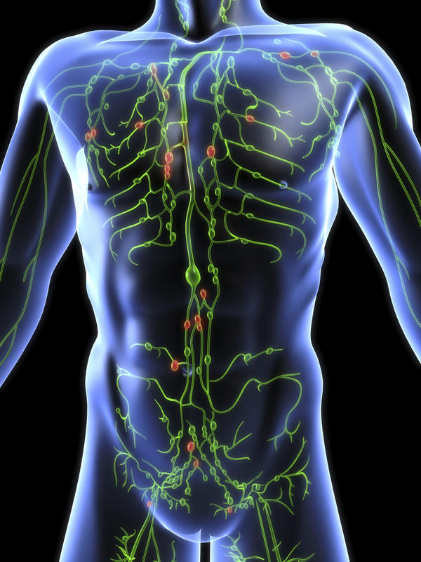 What are most common problems that can occur in the lymphatic system?