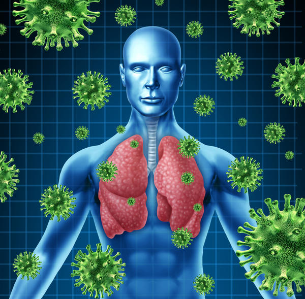 Can a viral respiratory infection become pneumonia?