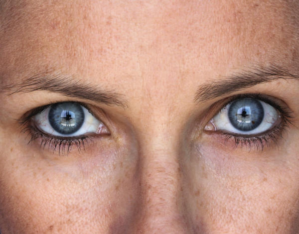 Is it true brown eyed people actually have blue eyes underneath?