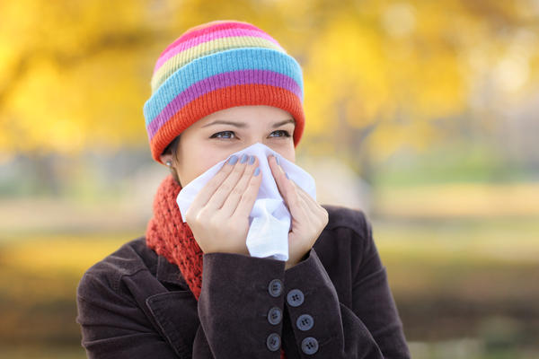 What is the treatment for a stuffy nose?