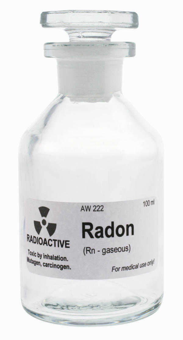 What health-related risks are associated with exposure to radon?