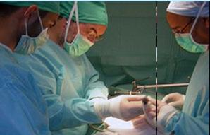 What method is a kidney transplant done?