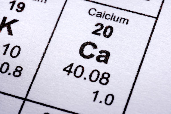 How long am i suppose to wait between high-calcium foods and iron supplements?
