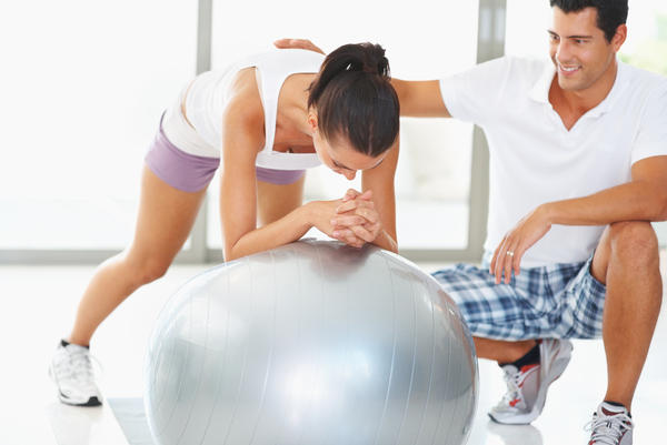 Could you tell me what are good exercises, using a Pilates ball, for the abs?
