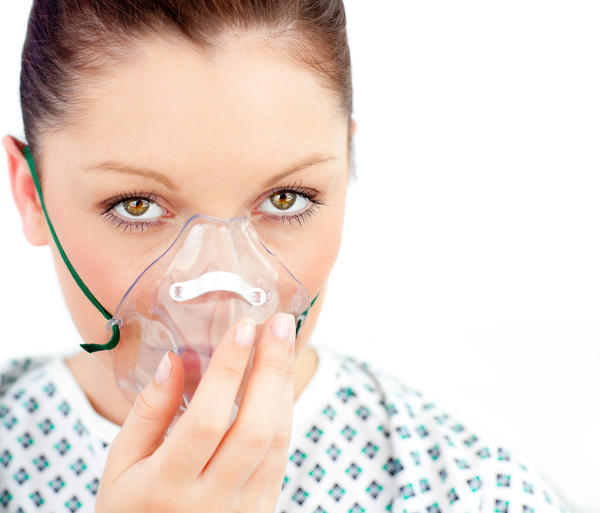 Can COPD patient on oxygen get carbon monoxide poison?