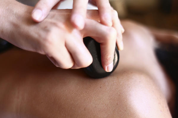 What does lymphatic massage therapy do?