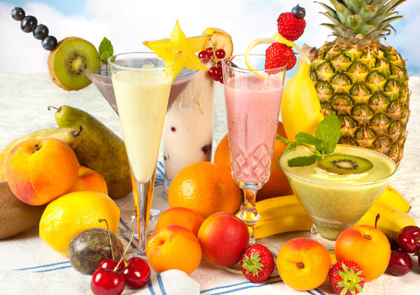 Is a mixture of fruit juices healthier than a smoothie?